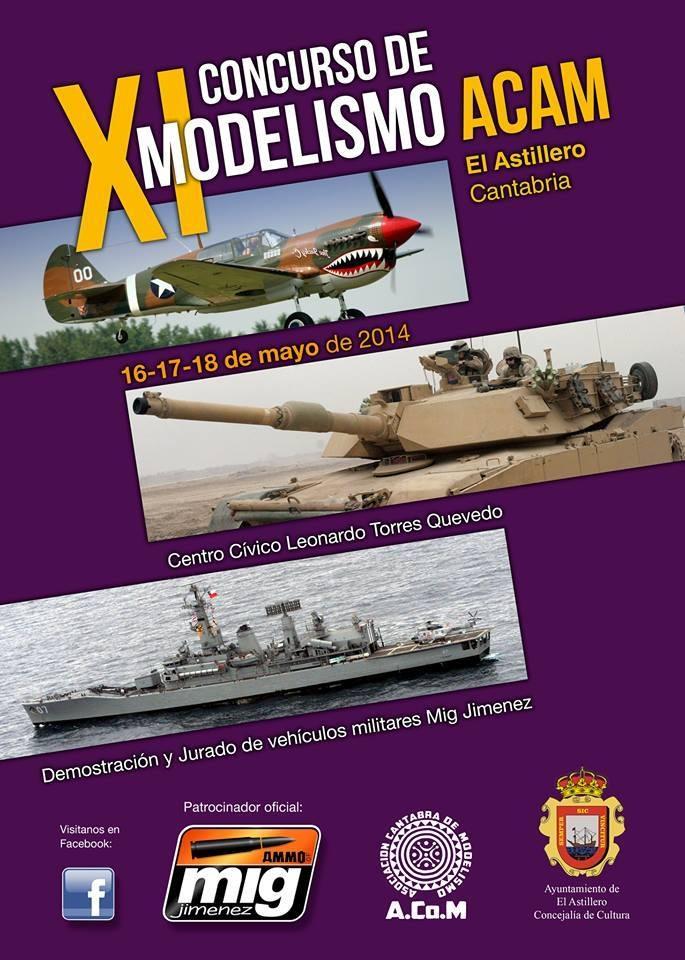IX Concurso Modelismo Astillero ACAM 2014