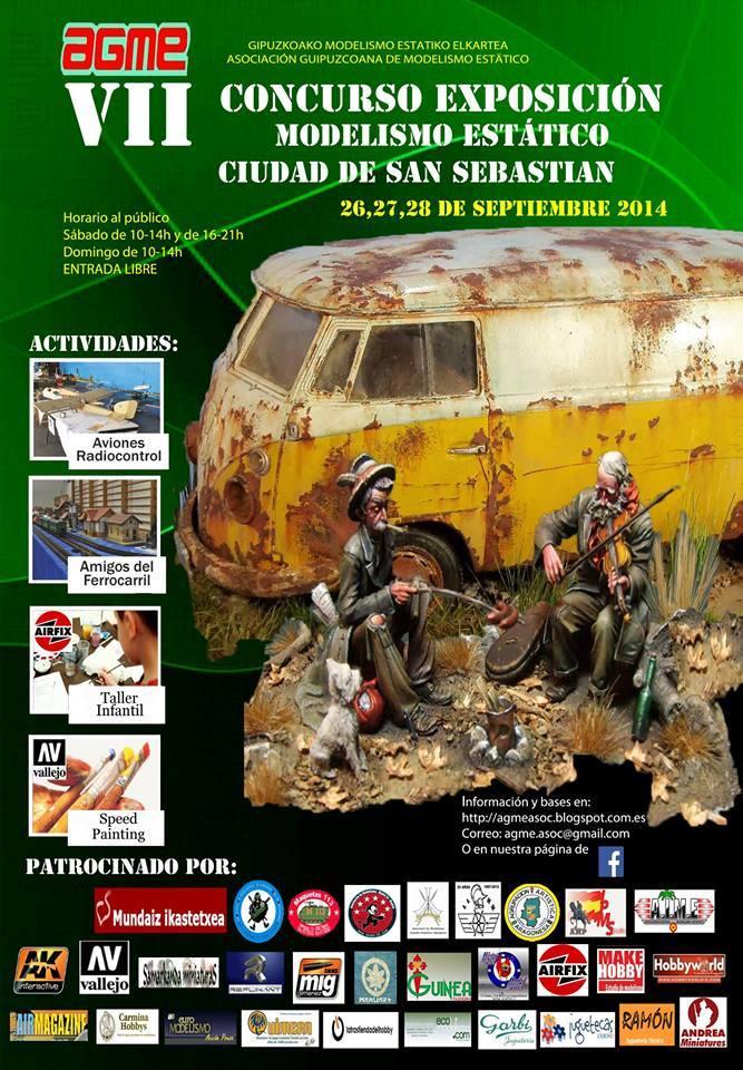 Cartel VII Concurso Exposición Ciudad de San Sebastián 2014