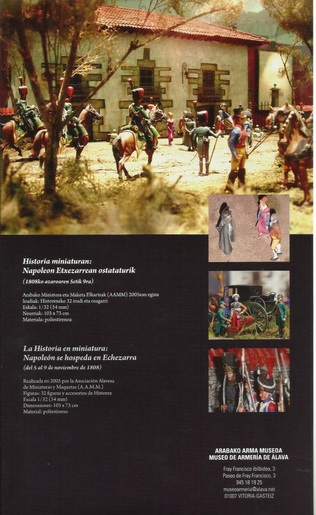 Cartel charla Museo de Armería