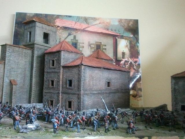 Diorama asalto a Gamarra